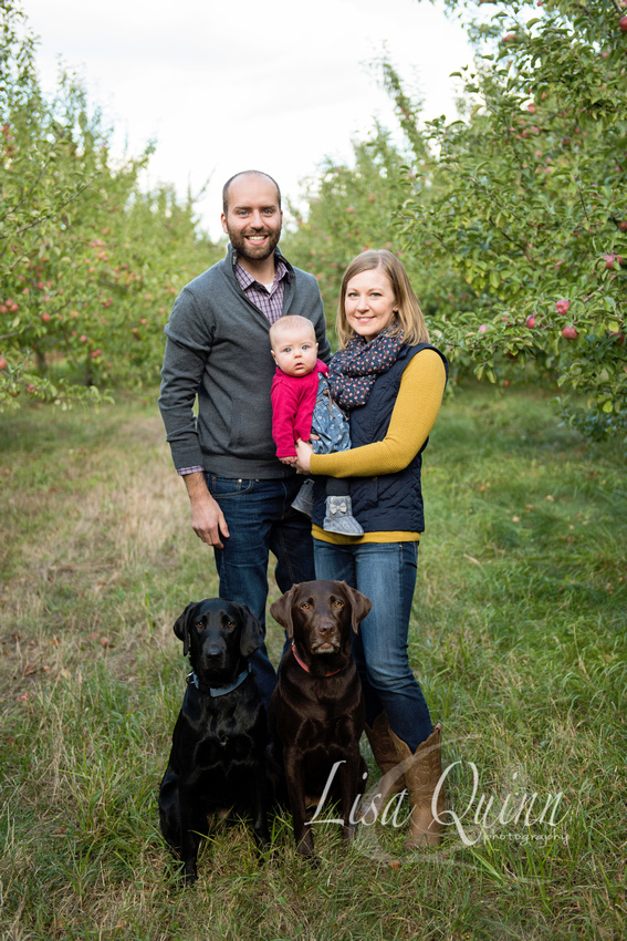 Southern Maine Family Photographer, Randall's Orchard Maine, Orchard Photo Session, Best Maine Photographers