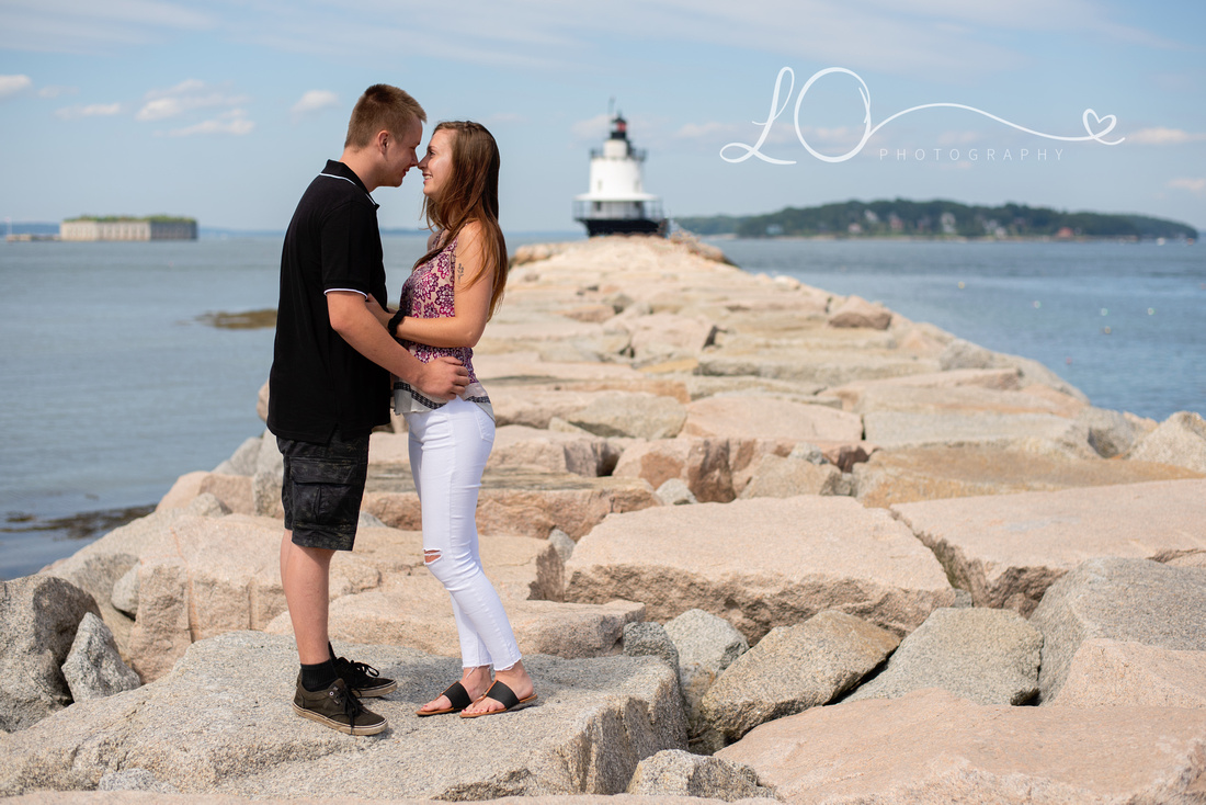Southern Maine Photographer, Engagement Photography, Maine Photographer, Spring Point Photo Session, Photographers in Southern Maine
